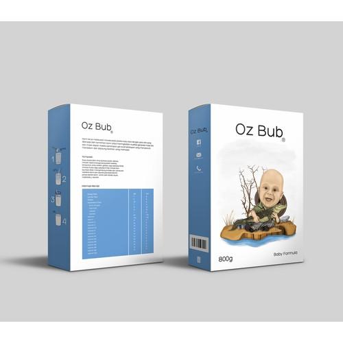 Oz bub Design Packaging