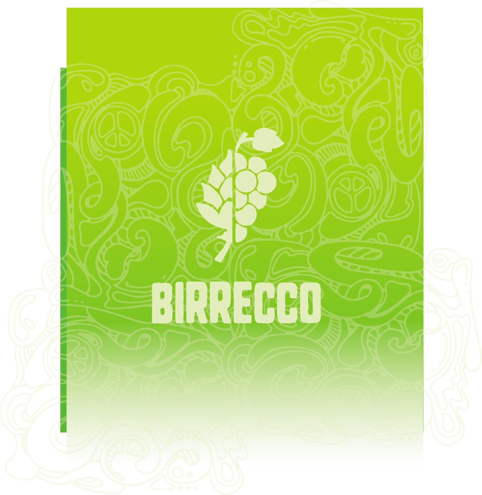 """Logo für ein neues Getränk: """"Birrecco"""""""