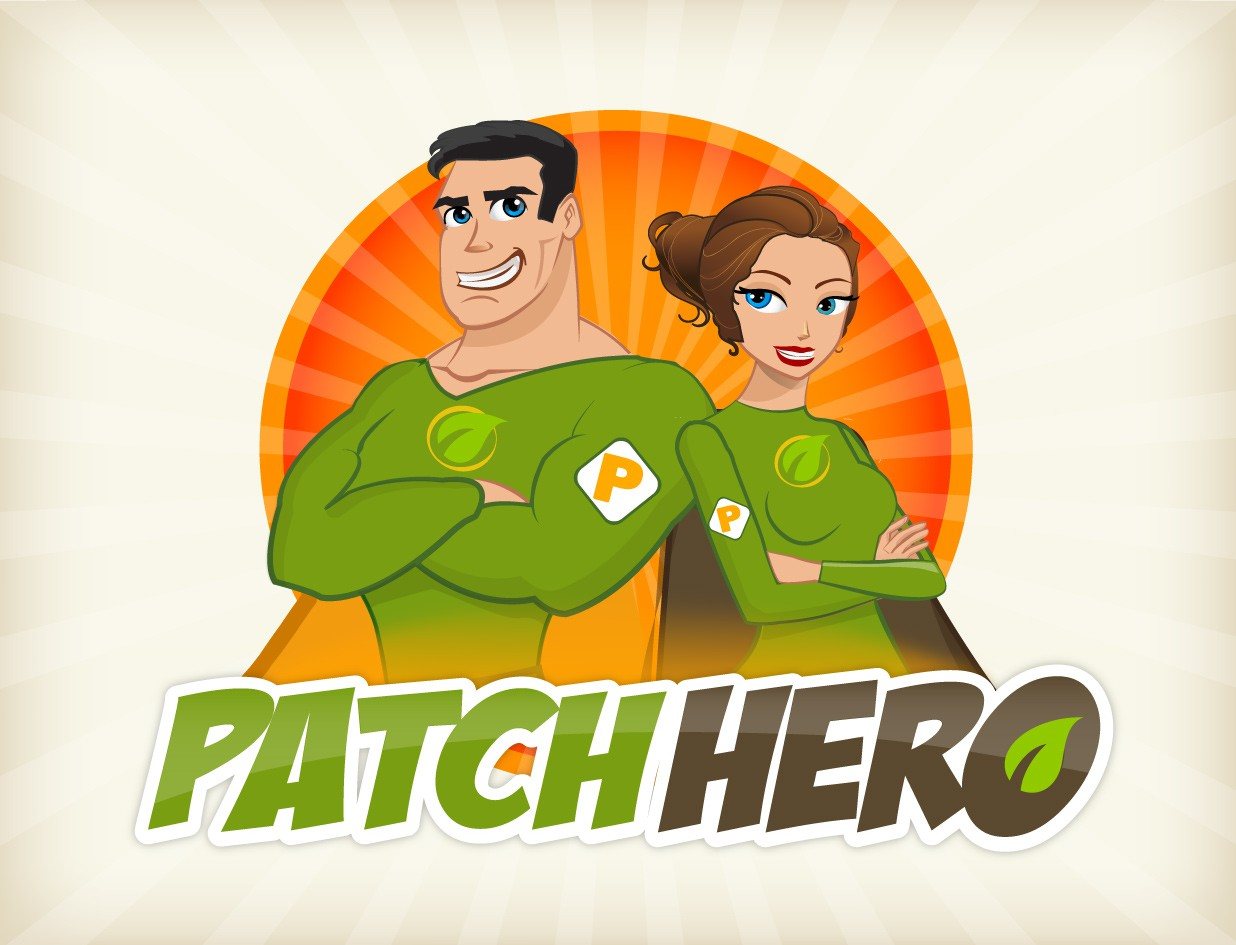 New logo wanted for Patch Hero - The Greatest Supplement Patches in the World