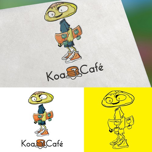 Mascot for Koa Cafe