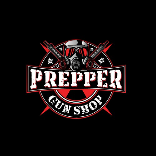 Prepper Gun Shop Logo Contest!  FUN ONE!!  Submit your designs before the apocalypse!!!