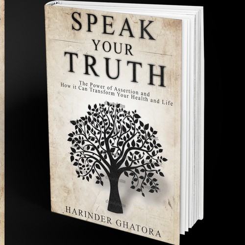 """Create a cover for a book entitled """"Speak Your Truth"""""""
