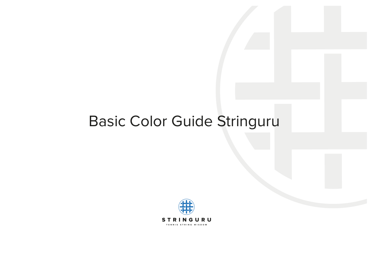 Brand Guide - Stringuru