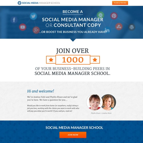Website design for SMMS