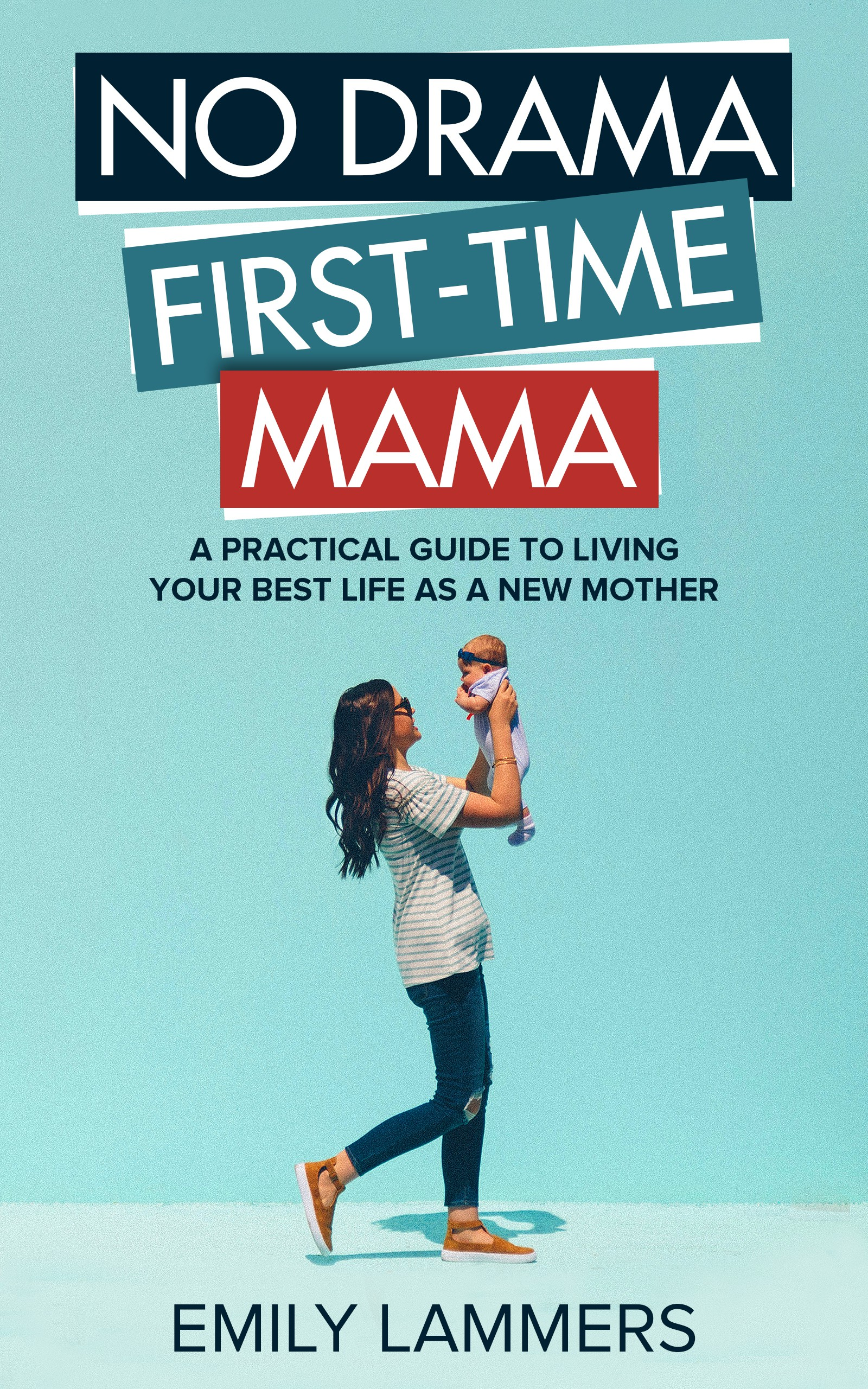 eBook cover to inspire and empower new mothers