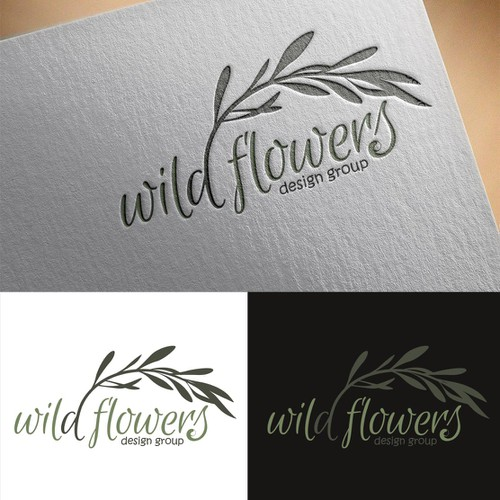 Wild Flowers Design Group Logo