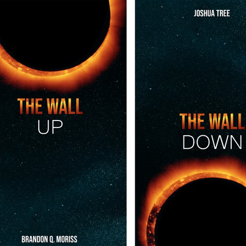 The Wall. SciFi Book cover