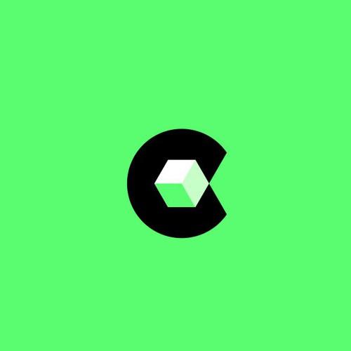 Letter C + Box