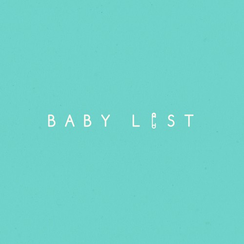 Design an enticing, playful, polished logo for a baby registry company, BabyList
