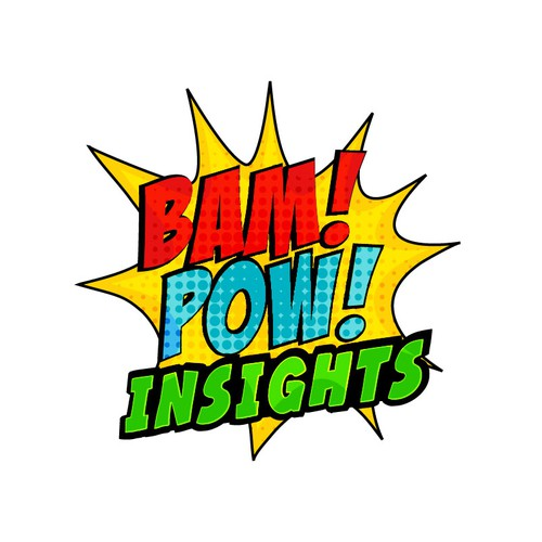 Bust out your Pop Art inspiration for Bam! Pow! Insights