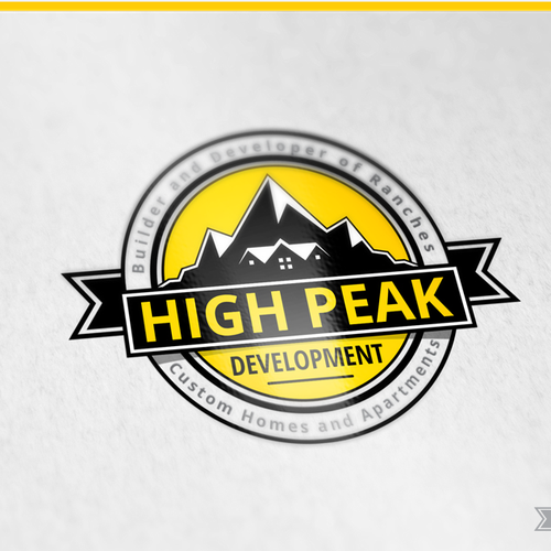 HighPeak Development - concept logo