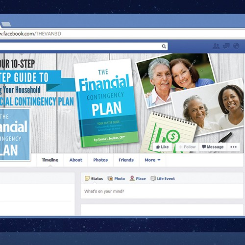 The Financial Contingency Plan Book - Facebook Cover