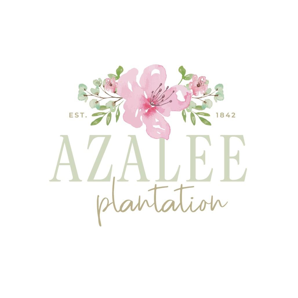 Design an elegant logo for Azalee Plantation Wedding Venue