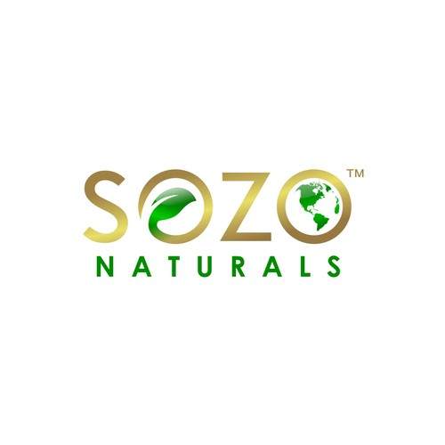 Create an inspiring logo for a health supplement start-up committed to healing people and the planet