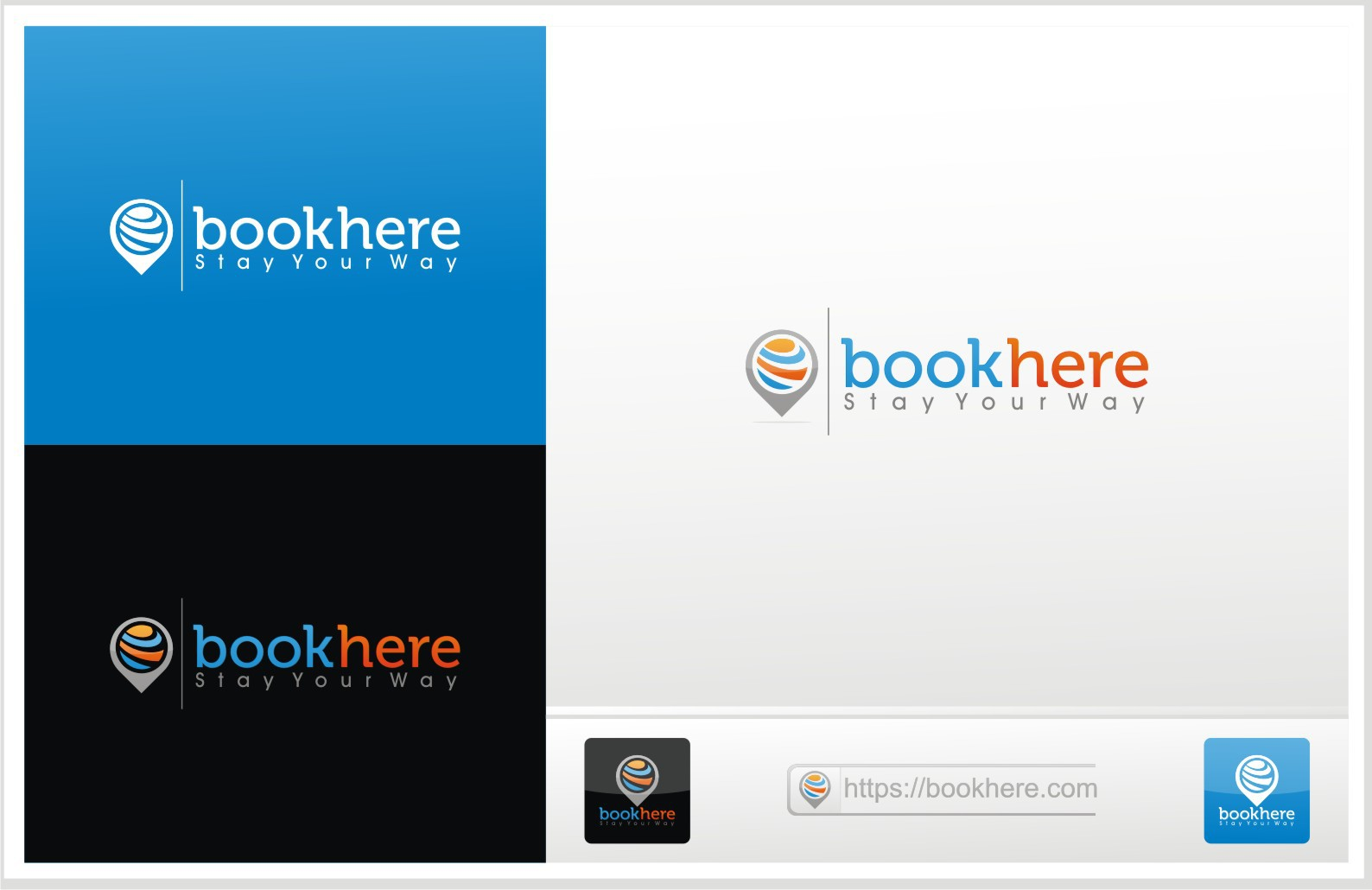 Help BookHere with a new logo
