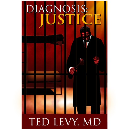 Book Cover for a Thrilling Medical/Legal Fiction
