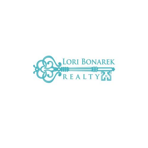 "logo for Start-up Real estate company ""Lori Bonarek Realty"""