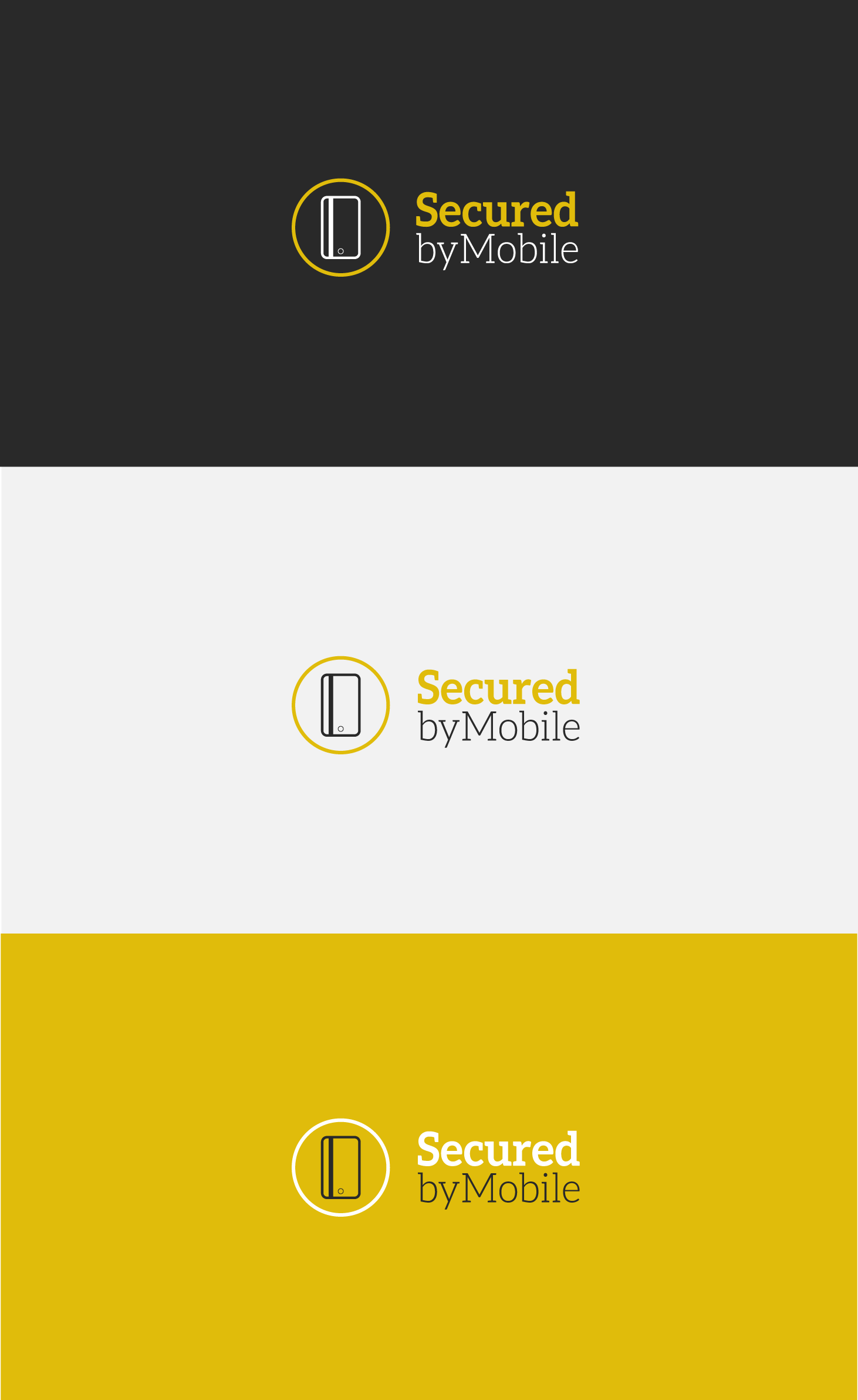 Secured by Mobile needs a new logo