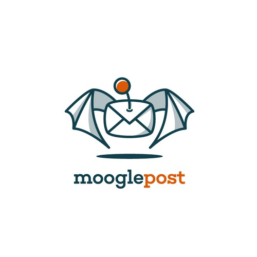 Create a dynamic and colorful logo for an emailing platform