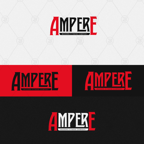 We want you! Create a new & fresh design for a fitness & lifestyle gym: Ampere! Modern Fitness