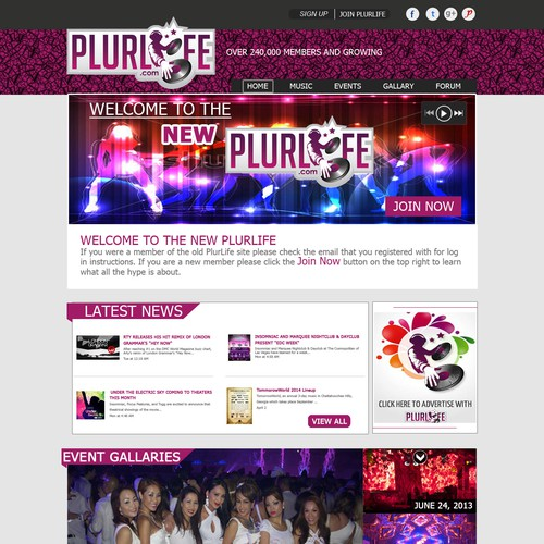 Looking for an awesome website for PlurLife
