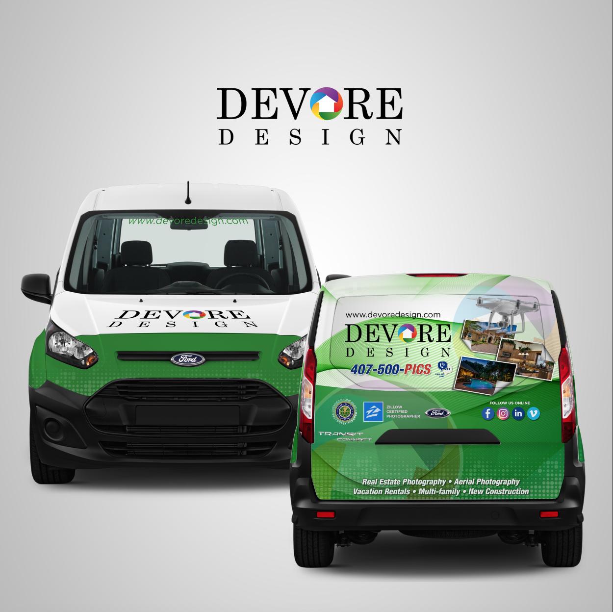 DeVore Design Vehicle Wrap