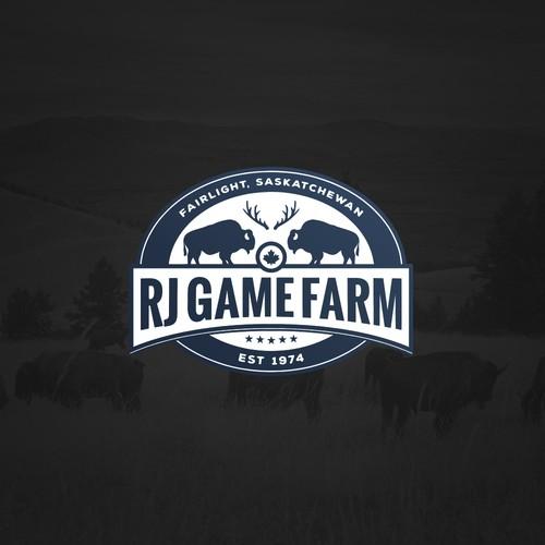 RJ Game Farm logo