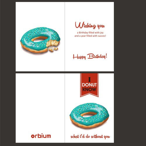 birthday card concept