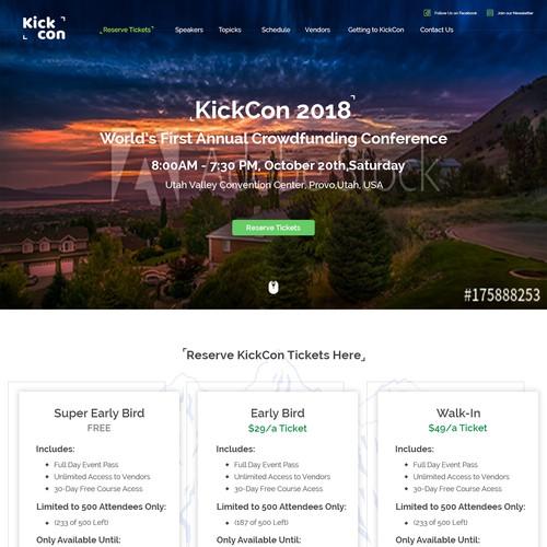 KickCon Web page