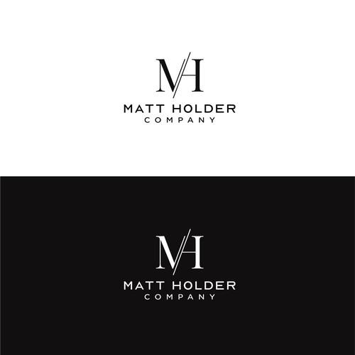 Minimalist and Modern Logo for Matt Holder