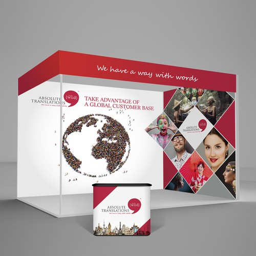 Exhibition Stand Background Graphics with an Impact!