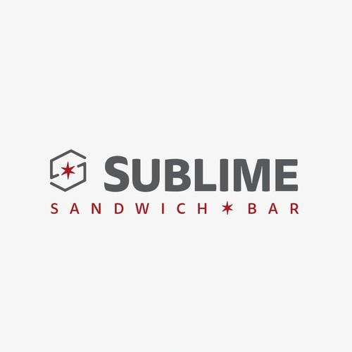 Modern logo for Sandwich Bar, Sublime