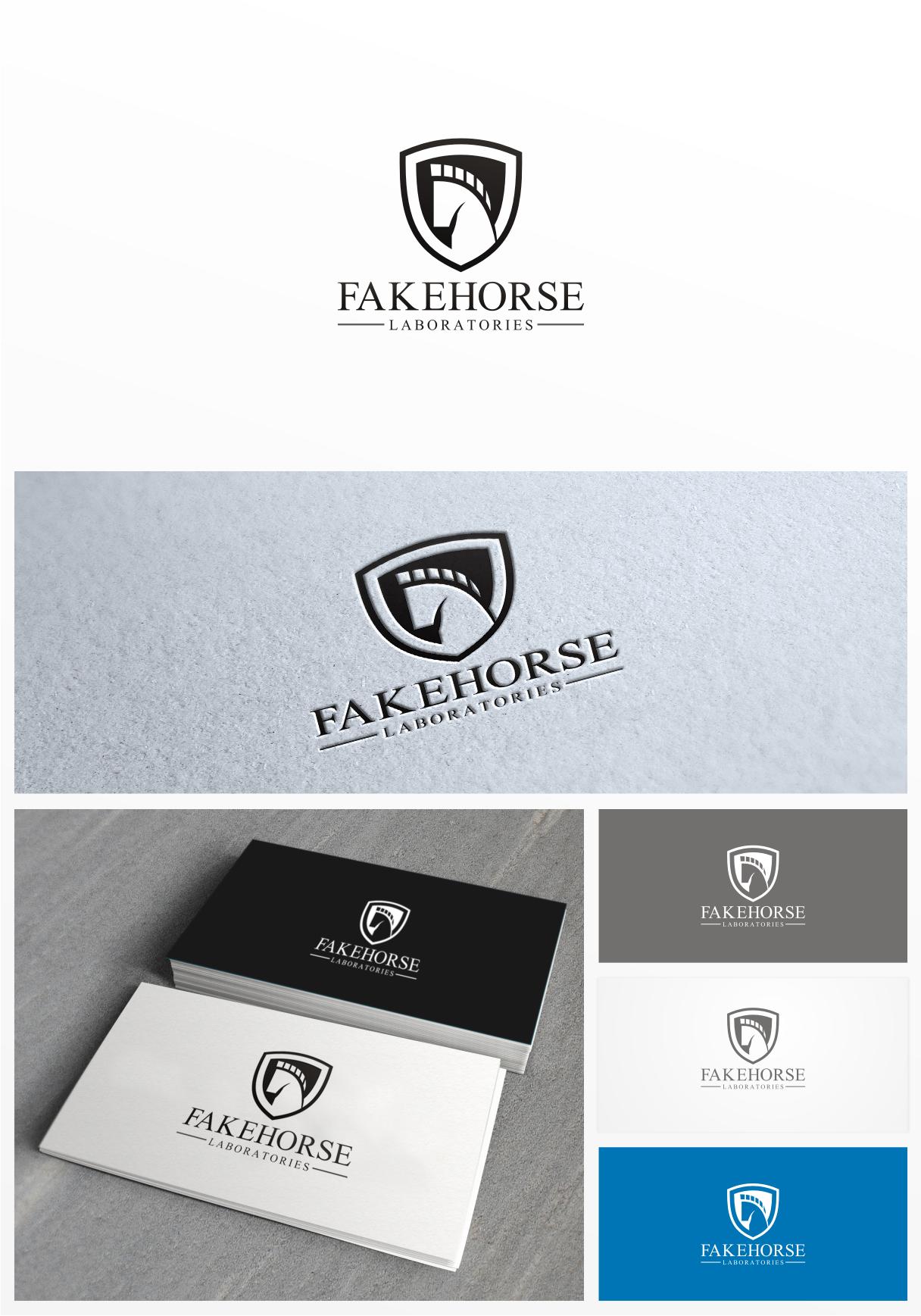 Create the next logo for Fakehorse Laboratories