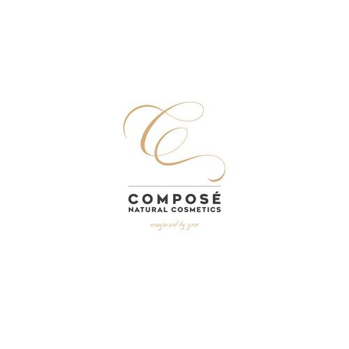 Logoentwurf – composé natural cosmetics