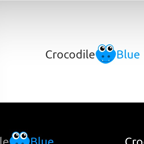 Create an awesome logo for Crocodile Blue