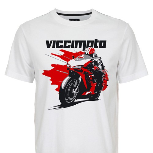 Motorcycle Racing T's needed for VicciMoto
