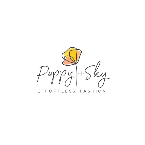Simple logo concept for fashion store