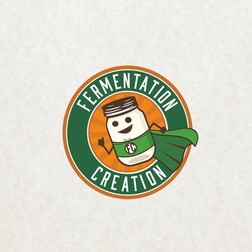 Fermentation Creation logo design