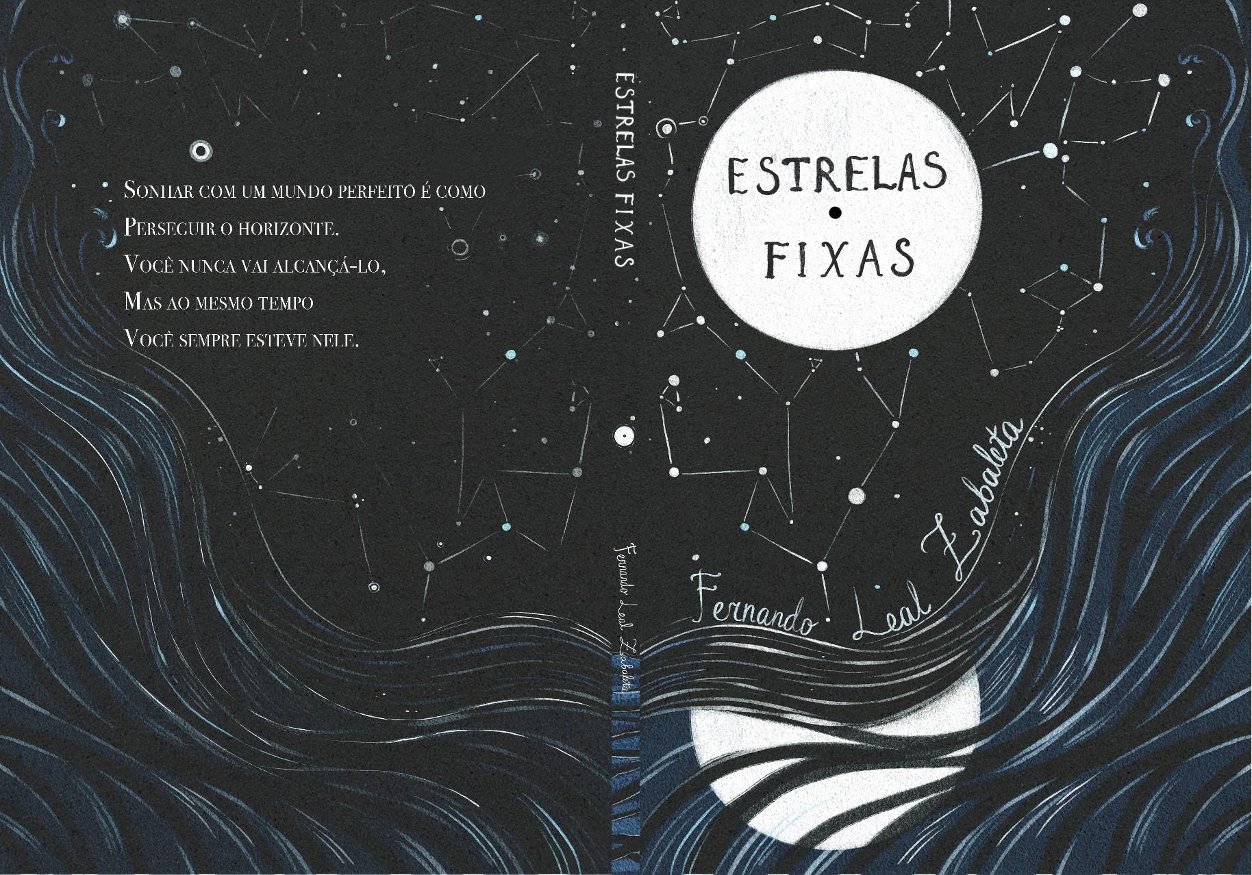 Capa para livro de poesia (Cover for poetry book)