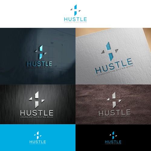 Creative Logo Symbol For HUSTLE Company
