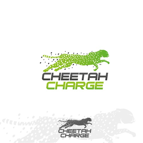 """Create a cool and distinctive logo that matches """"Cheetah Charge"""" and symbolizes speed."""