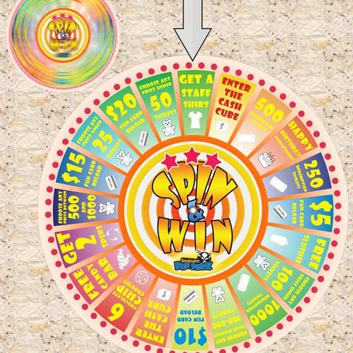 Prize Wheel Design (20 Slots)