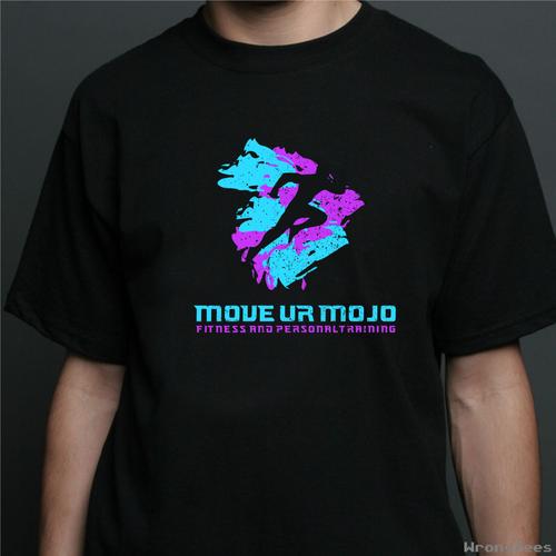 Colorful logo concept for Move Ur Mojo