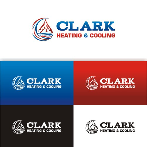 Create the next logo for Clark Heating & Cooling