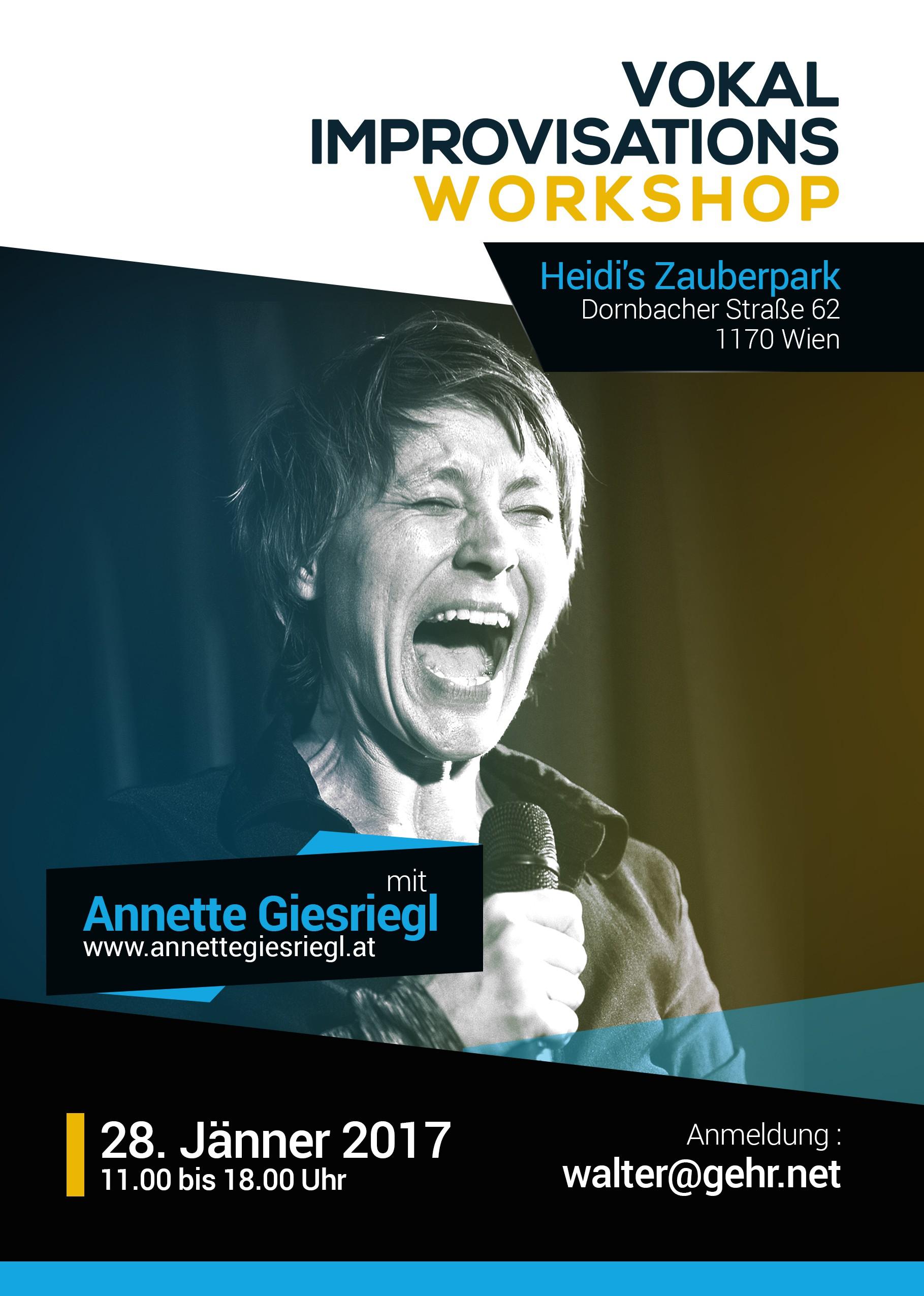Vokal Improvisation Workshop