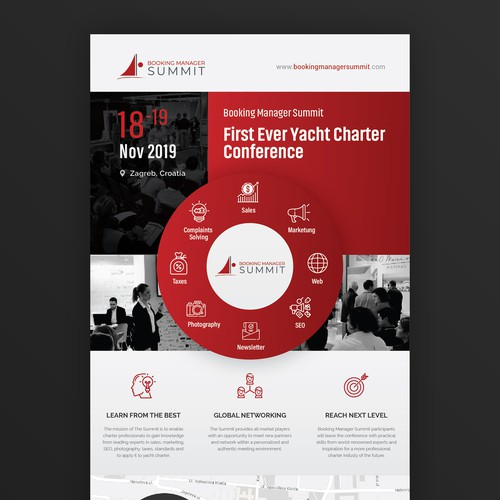Booking Manager Summit brochure