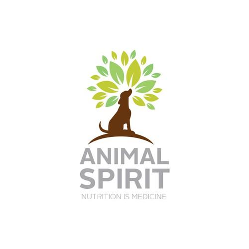 logo concept for pet food