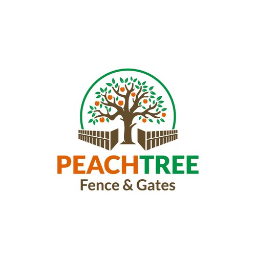 Logo for a Fence and Gates Company