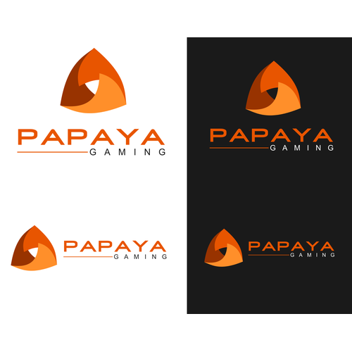 Gaming Platform Logo PAPAYA