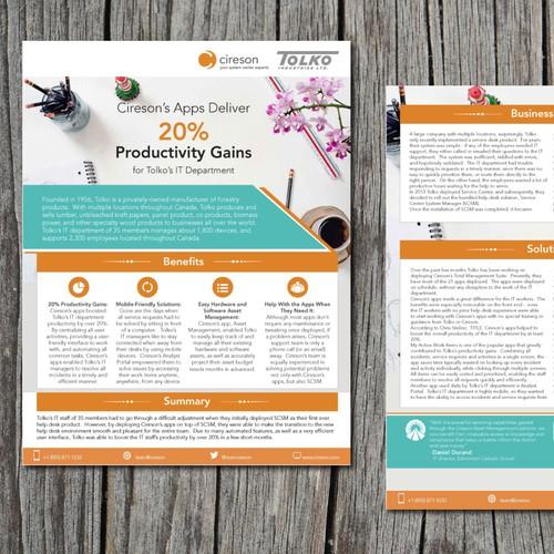 IT Case Study Brochure